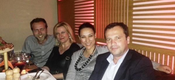 Την Χριστίνα Χαλιλοπούλου καλωσόρισε στα Τρίκαλα ο Θανάσης Λιούτας
