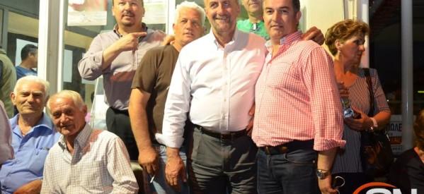Άνετη επικράτηση Μεριβάκη στη Φαρκαδόνα