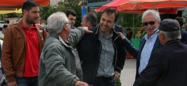 Στη λαϊκή αγορά του ΟΣΕ ο Δημήτρης Παπαστεργίου