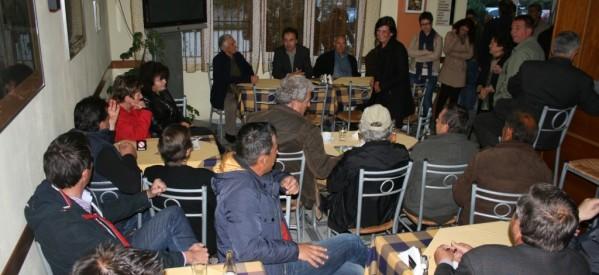 Αποδοχή από τους κατοίκους Λογγακίου – Χαϊδεμένης και Ράξας στον συνδυασμό του Δ. Παπαστεργίου