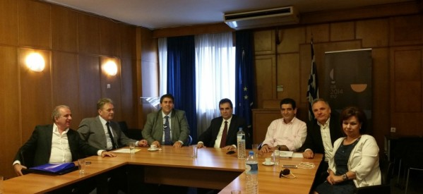Σε σύσκεψη για το ΟΣΔΕ ο Η. Βλαχογιάννης