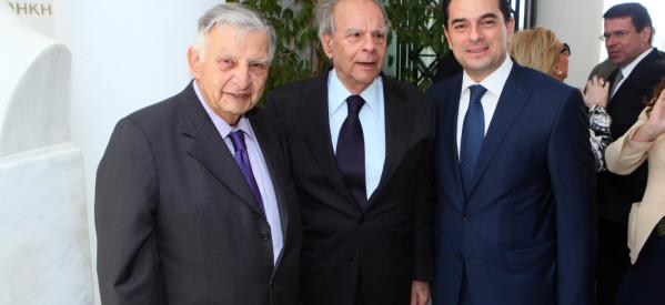 Στο Μνημόσυνο του Εθνάρχη Κ. Καραμανλή, ο Κώστας Σκρέκας