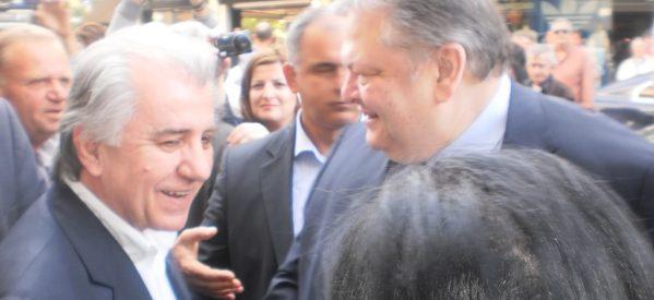 Βενιζέλος: Δεν θα είμαι υποψήφιος βουλευτής Θεσσαλονίκης στις εκλογές