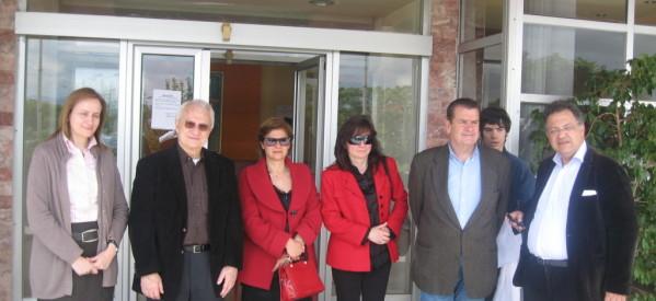 Επίσκεψη Δημήτρη Χατζηγάκη στο Θεραπευτήριο Χρονίων Παθήσεων
