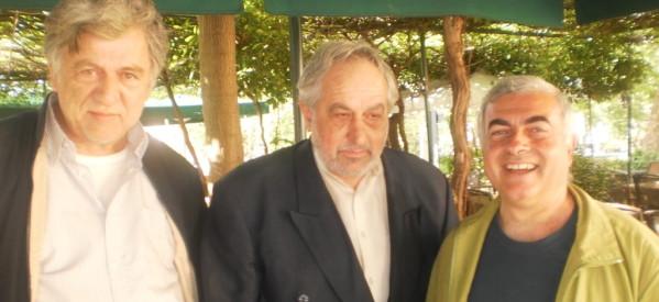 """Στα Τρίκαλα χθες ο Ν. Χρυσόγελος, υποψήφιος ευρωβουλευτής των """"Πράσινων"""""""