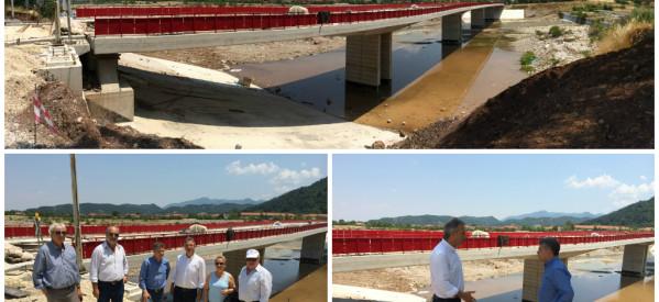 Σε 45 μέρες η γέφυρα Πορταϊκού
