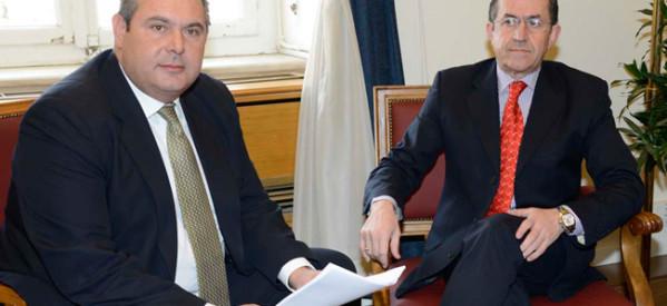 Επισημοποιήθηκε η συνεργασία ΑΝΕΛ με Ν. Νικολόπουλο