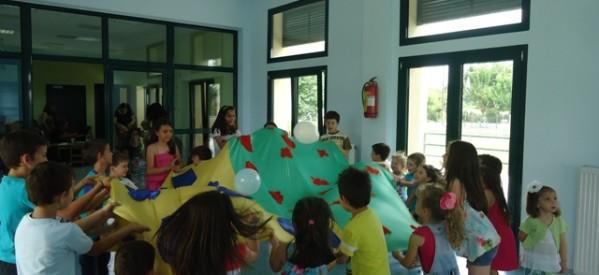 Καλοκαιρινές εκδηλώσεις των παιδικών σταθμών «Ουράνιο Τόξο» και «Αερόστατο»