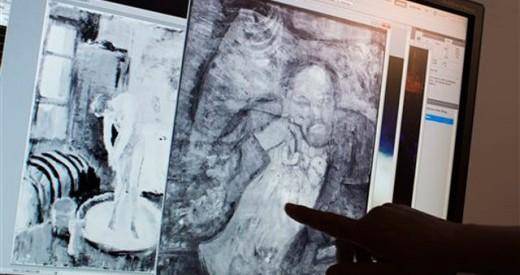 Aποκαλύφθηκε μυστηριώδες πορτρέτο κάτω από αριστούργημα του Πικάσο