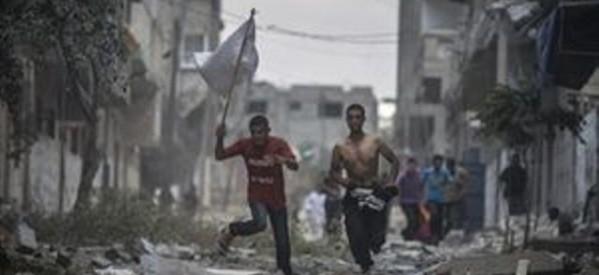 Πρωτοφανές λουτρό αίματος στη Γάζα