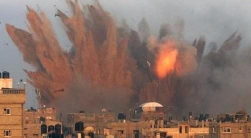 Μετωπικές οργανώσεις του ΚΚΕ διαδηλώνουν για τη Γάζα στα Τρίκαλα