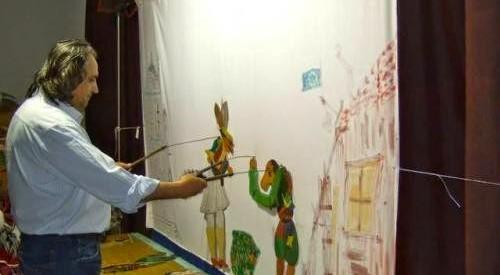 Παραστάσεις Καραγκιόζη σε Αρδάνι, πλατεία Βουβής, Δενδροχώρι