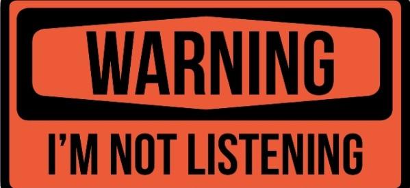 Πάψε να τους ακούς