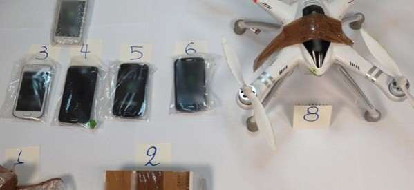 Λάρισα: Ηθελαν να περάσουν κινητά στις φυλακές με… ελικοπτεράκι!