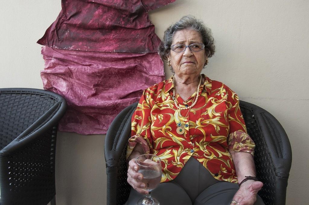 Ρόζα Χανάν- Μαλέλ: Από τη Ρόδο όπου γεννήθηκε, εζησε, κι εκτοπίστηκε. Σήμερα ζει στη Ρώμη.