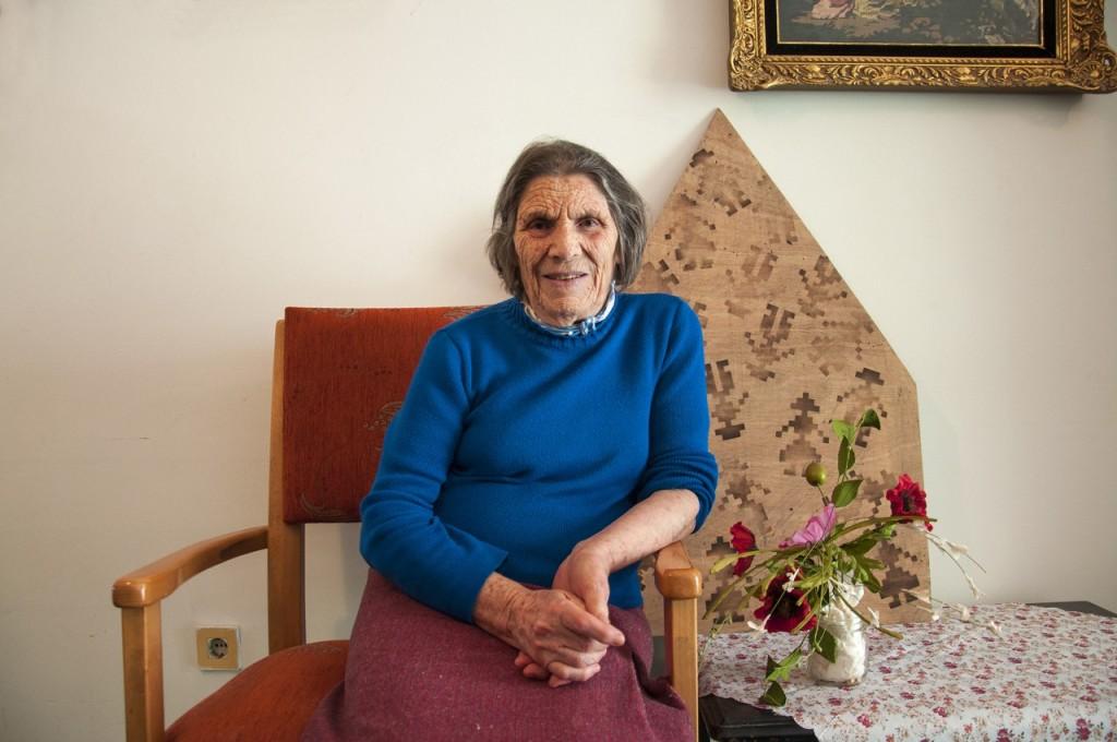 Στερίνα Κοέν: Από την Καστοριά. Σήμερα ζει στην Θεσσαλονίκη.