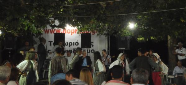 Γλέντησαν στο Λιόπρασο