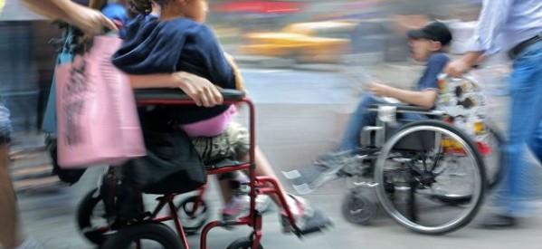 Διαμαρτυρία για την εκπαίδευση μαθητών με αναπηρία