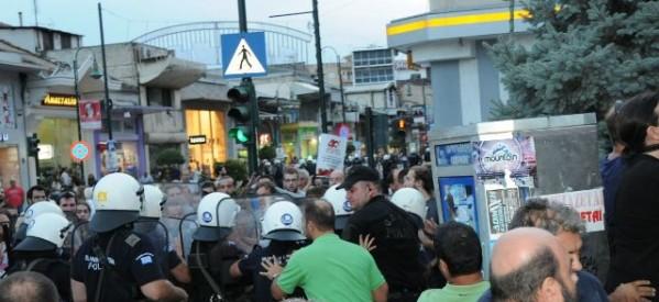 Λαϊκή Συσπείρωση Θεσσαλίας: Καταδικάζουμε τη στάση της αστυνομίας στην ορκωμοσία