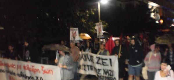 Μαχητικό το συλλαλητήριο για την επέτειο δολοφονίας του Π. Φύσσα
