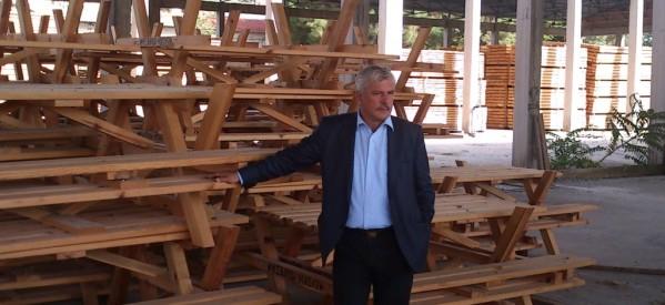 Μ. Ταμήλος: Σε νέα τροχιά ανάπτυξης η κρατική βιομηχανία ξύλου Καλαμπάκας