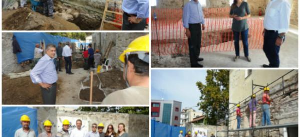 Ξεκίνησαν οι εργασίες αποκατάστασης των παλαιών φυλακών που θα στεγάσουν το μουσείο Τσιτσάνη