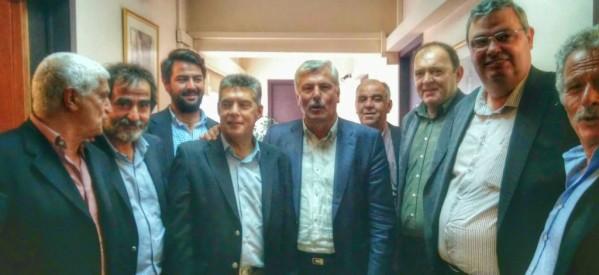 Σε σύσκεψη για τον καταρροϊκό πυρετό συμμετείχε ο Μ. Ταμήλος