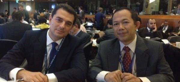 Εκπρόσωπος της Ελλάδας στο Παγκόσμιο Συνέδριο Εμπορίου ο κ. Κ. Σκρέκας