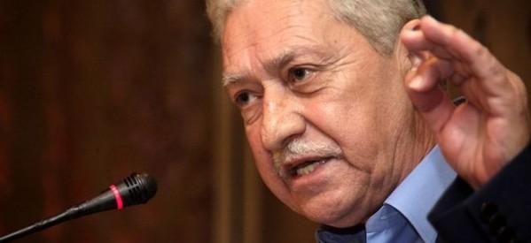 Φ. Κουβέλης: «Δεχθήκαμε έναν αδυσώπητο πόλεμο…»