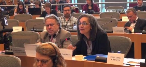 Οι εργαζόμενοι της ελεύθερης ΕΡΤ στο Ευρωπαϊκό Κοινοβούλιο