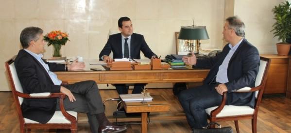 Το ΕΣΠΑ στο επίκεντρο της συνάντησης Αγοραστού και Σκρέκα