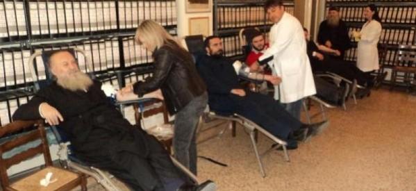 Συνεχίζει την εκστρατεία αιμοδοσίας η Ι.Μ. Τρίκκης και Σταγών
