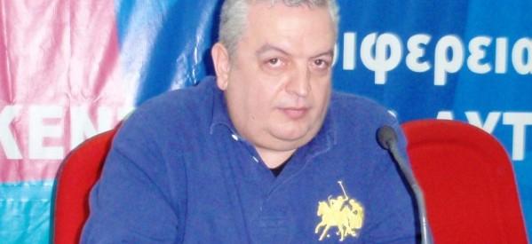 ΣΟΚ: Πέθανε ο πρόεδρος του ΤΕΕ Θεσσαλίας Γιάννης Βαρνάς