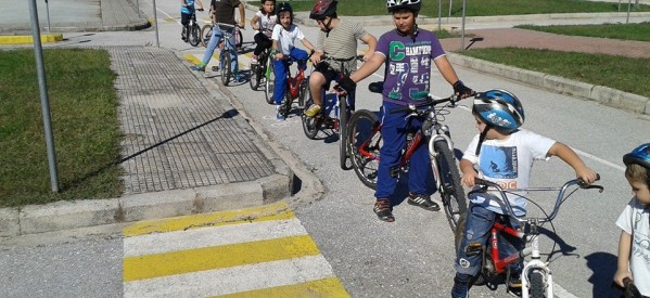 Συνεχίζονται τα δωρεάν μαθήματα οδικής συμπεριφοράς στο πάρκο κυκλοφοριακής αγωγής