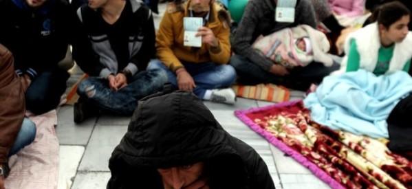 Συμπαράσταση στους Σύρους πρόσφυγες