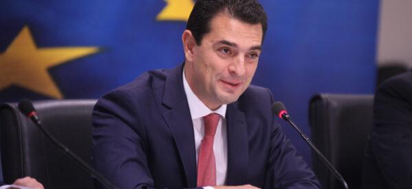 Κώστας Σκρέκας από Σλοβενία: Ελληνική πρωτοβουλία για τη στήριξη των Ευρωπαίων καταναλωτών από τη διεθνή ενεργειακή κρίση
