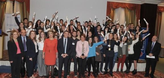 Βράβευσε αριστούχους μαθητές η Eurobank