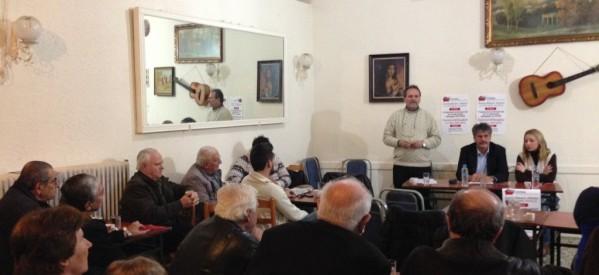 Με αμείωτο ενδιαφέρον συνεχίστηκαν οι δράσεις του ΣΥΡΙΖΑ σε Οιχαλία και Χρυσομηλιά.