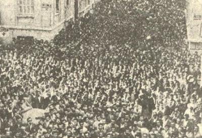 H ιστορική απεργία των οικοδόμων την 1η Δεκέμβρη του 1960