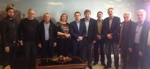 Η Καλαμπάκα υποδέχθηκε τον Υπουργό Κώστα Σκρέκα
