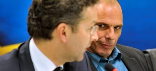 Βαρουφάκης στο Bloomberg: Ελπιζω ότι η ΕΚΤ θα βοηθήσει την Ελλάδα να μην χρεοκοπήσει το Μάρτιο