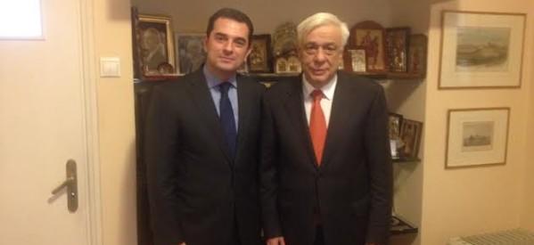 Στον νέο Πρόεδρο της Δημοκρατίας, ο Κώστας Σκρέκας