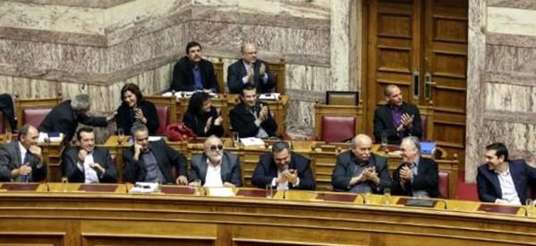 Κυβέρνηση με εμπιστοσύνη της Βουλής και στήριξη του λαού για τη σημερινή διαπραγμάτευση