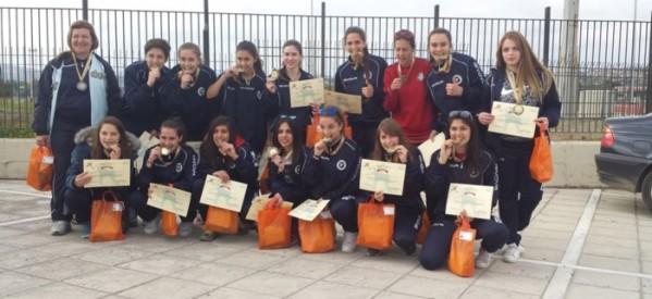 Δευτεραθλήτρια Ελλάδας η ομάδα ποδοσφαίρου κοριτσιών του 3ου Λυκείου Τρικάλων