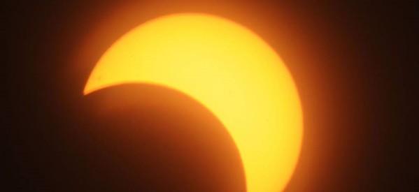 Πώς να παρακολουθήσετε την αυριανή μερική έκλειψη ηλίου