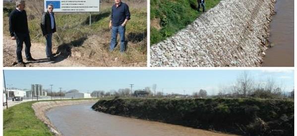 Επίσκεψη Αγοραστού σε έργα αντιπλημμυρικής προστασίας στον Πορταϊκό ποταμό