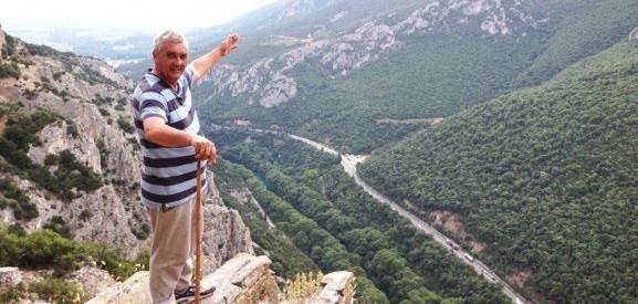 Λάρισα: Ανάβαση στο αντάρτικο μονοπάτι στα Τέμπη
