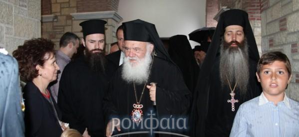 Ηγούμενοι των Μετεώρων στον Αρχιεπίσκοπο για το θέμα του νέου Δεσπότη