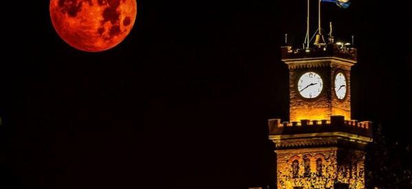 Σήμερα το πιο ολόγιομο φεγγάρι !