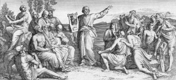 «Τη γλώσσα μου έδωσαν ελληνική..»